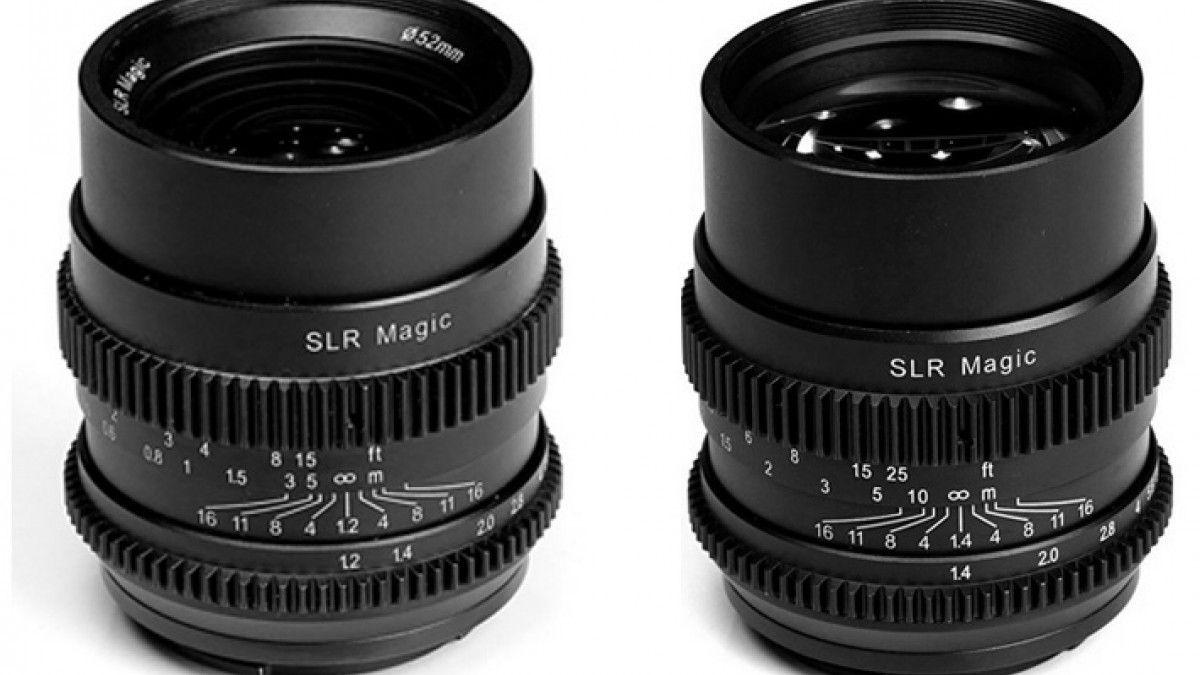 2 New Affordable Lenses From Slr Magic Cine Lenses Slr Powerade Bottle
