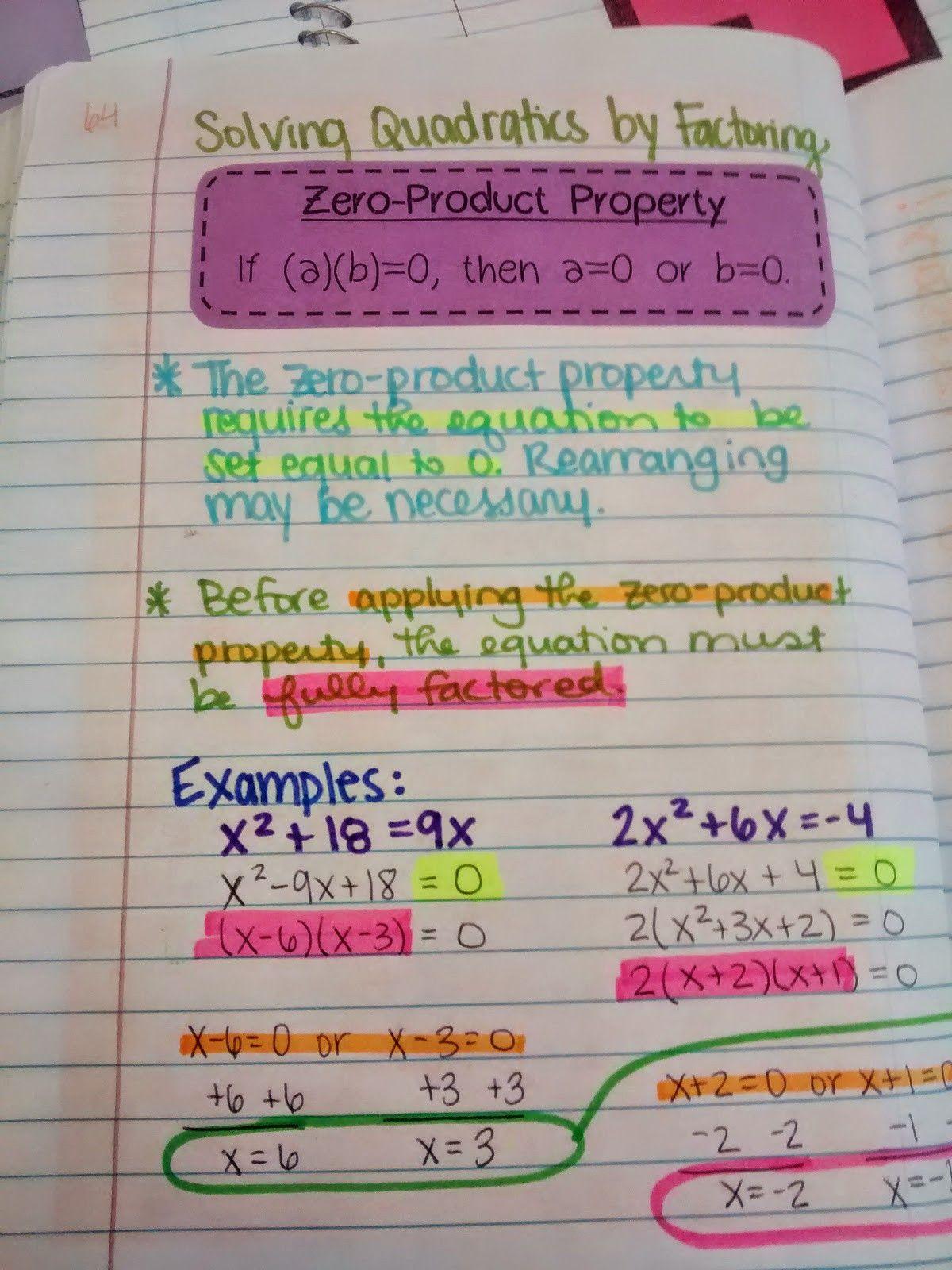 Math 154b Quadratic Formula Worksheet Answers