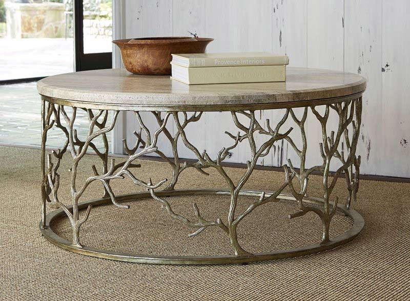 Ambella Home Collection Branch Cocktail Table 09116 920 001 Table Basse Mobilier Foyer Exterieur