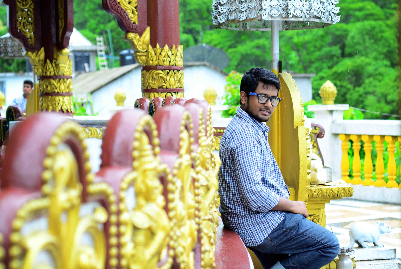 Golden tempal,Bandarban