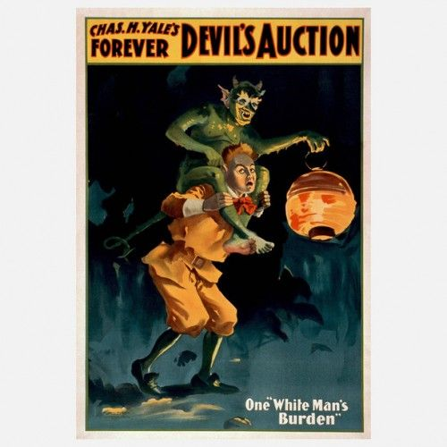 VINTAGE MAGICIAN'S POSTERS
