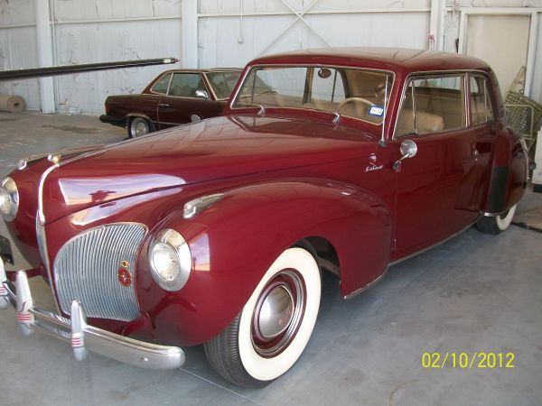 1941 Lincoln Continental for sale on Craigslist $42,000