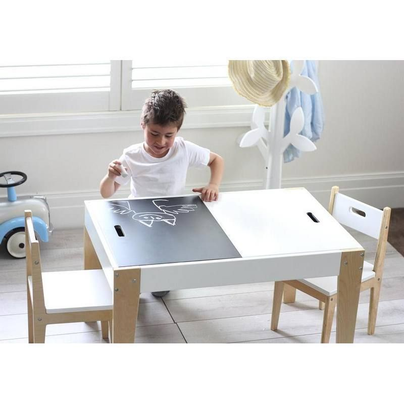 Benji Activity Table 2 Chair Set In 2020 Kids Activity Table