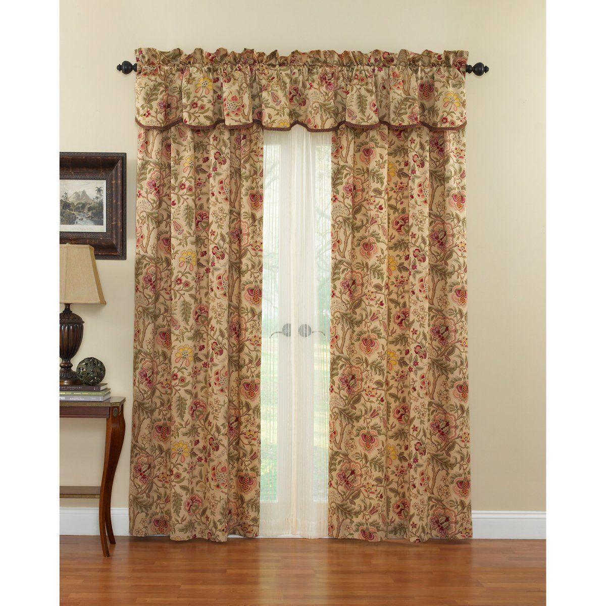 Waverly Imperial Dress Curtain Panel Con Immagini Idee Per