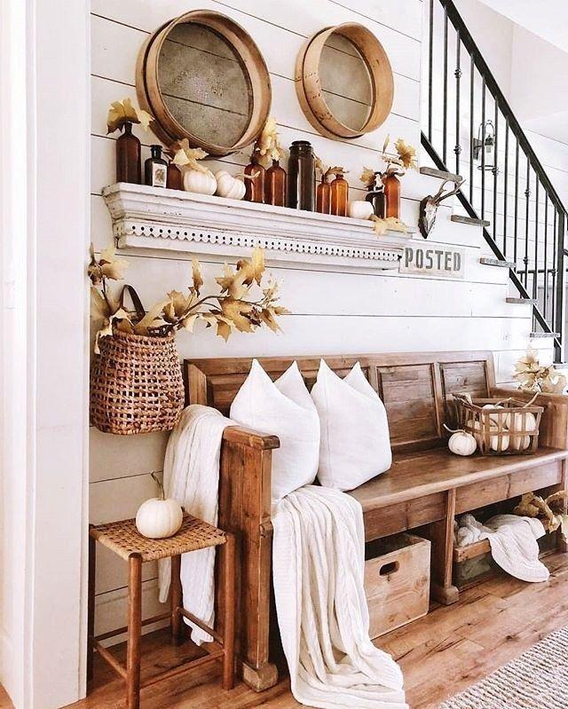 "Farmhouse Design on Instagram: ""#farmhouse #interior #farmhousestyle #interiordesign #farmhousedecor #decoration #interiors #modernfarmhouse #interiordecor #farmhousechic…"""
