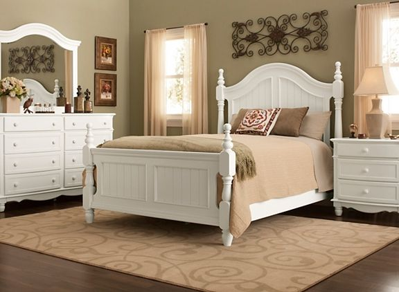 Willow Point 4Pcqueen Bedroom Set  Bedroom Sets  Raymour And Prepossessing Raymour And Flanigan Bedroom Sets 2018