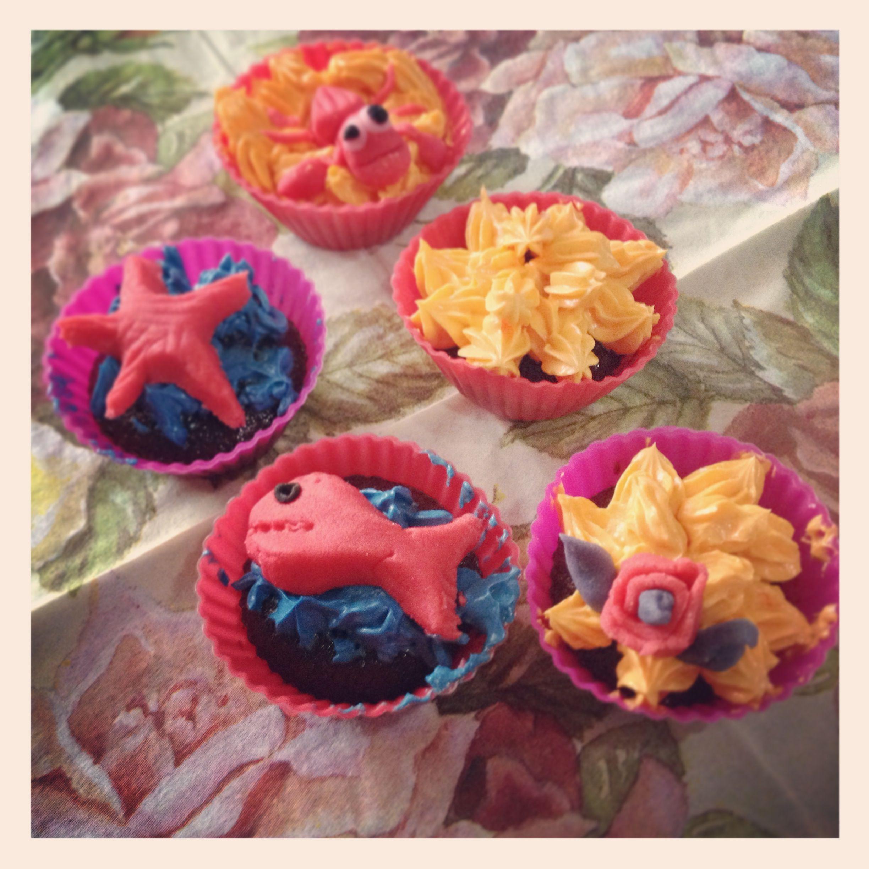 Cupcakes Marinos Sea Cupcakes