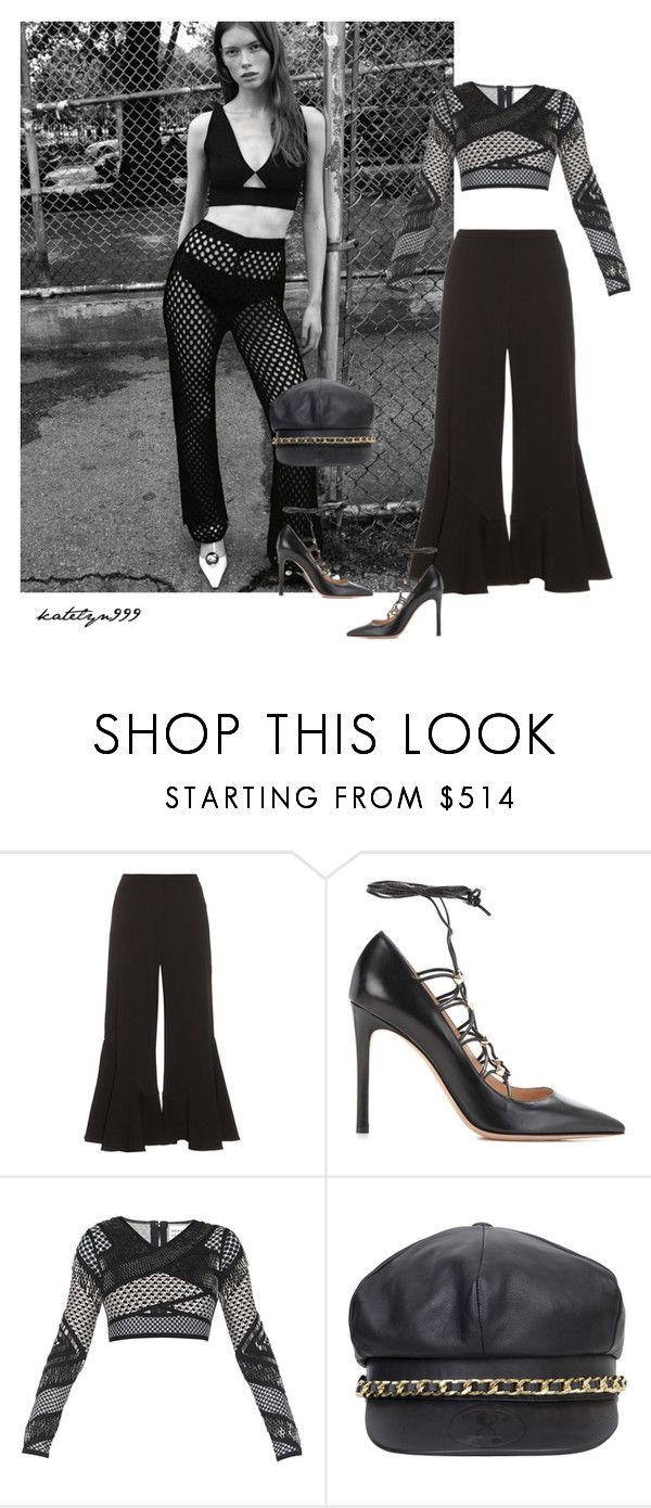 """You're so Vogue..."" by katelyn999 ❤ liked on Polyvore featuring Peter Pilotto, Valentino, Hervé Léger and Moschino"