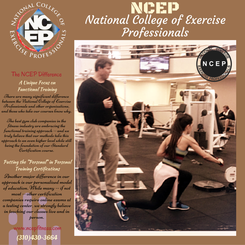 Ncep Is Accredited By The National Exercise Therapy