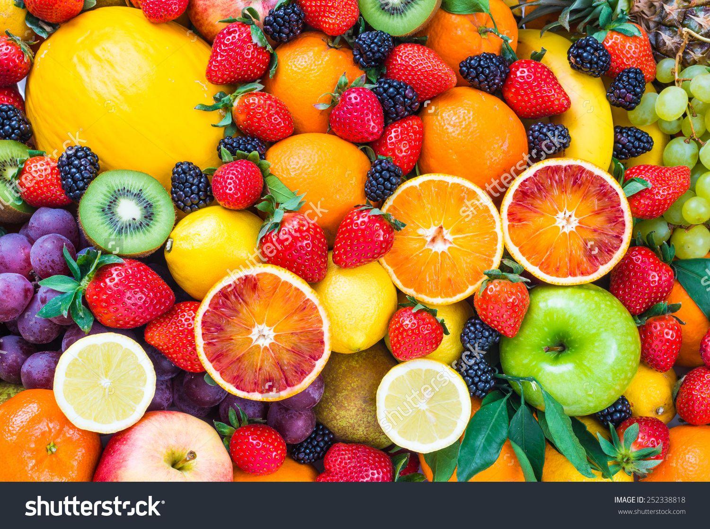 fresh fruitsmixed fruits backgroundhealthy eating