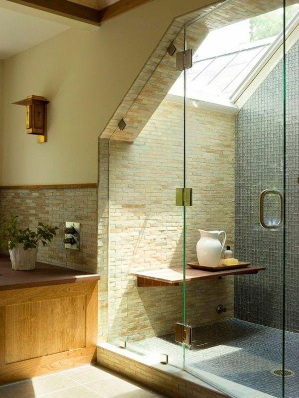 la plus lumineuse salle de bain sous combles bathroom Pinterest