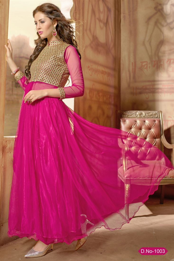 Gleaming Evening Party Wear Designer Gown At RS. 2575 | Designer ...