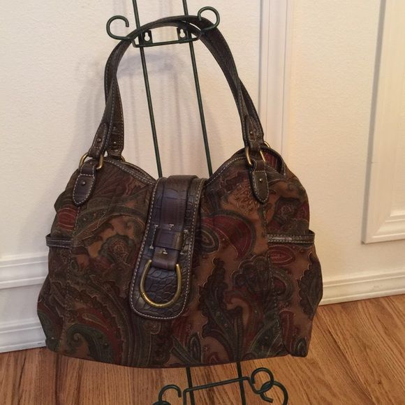 American Living Purse Paisley Bags Satchels