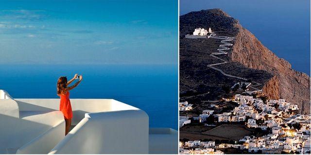 50 år sedan Folegandros – som Santorini för 50 år sedan – Omni | Resor | Pinterest 50 år sedan