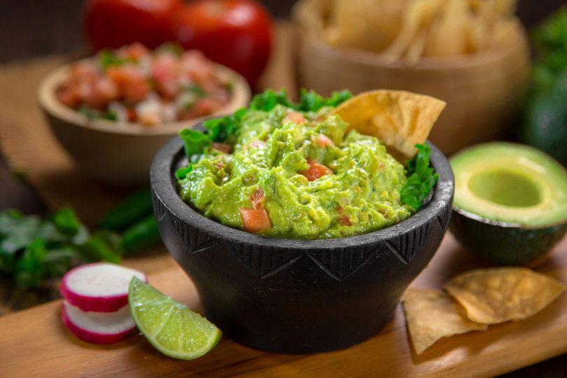 Ricetta Guacamole Light.Come Fare La Salsa Guacamole Ricetta Ricette Idee Alimentari Salse Con Avocado