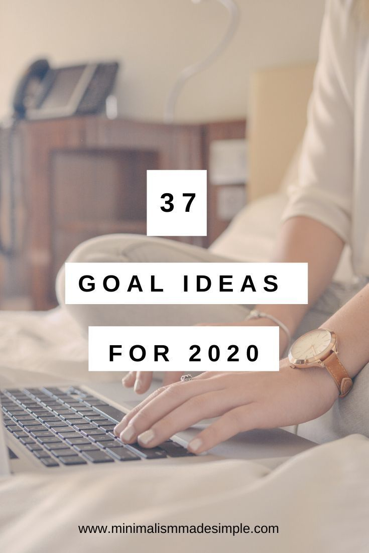 37 Personal Goal Examples