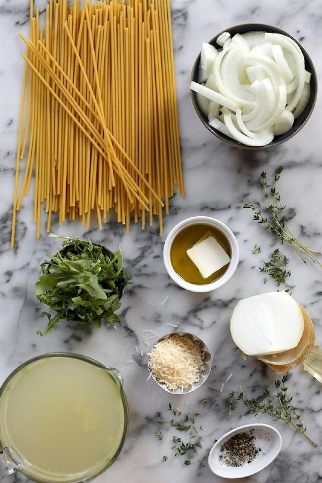 Fans de soupe à l'oignon...voici Le One Pot Pasta aux oignons - Recettes - Ma Fourchette
