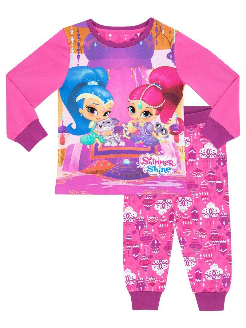Shimmer /& Shine PyjamasGirls Shimmer and Shine PjsShimmer and Shine Snuggl