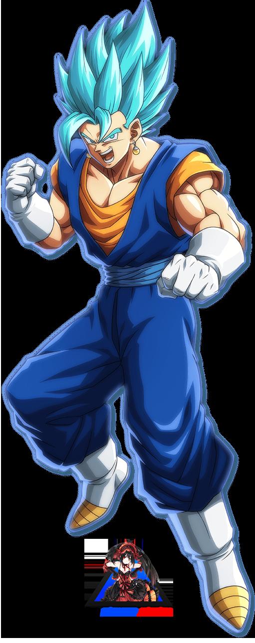 Dragon Ball Fighterz Vegito Ssgss By Playerotaku On Deviantart Dragon Ball Dragon Ball Z Artist