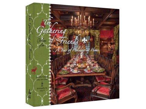 The Gathering of Friends Books are some of the best cook books plus tablesetting ideas that I have seen lately I have tried many of the recipes and found them to be very easy to prepare plus I always love the picture of what it is suppose to look like. Love it!!