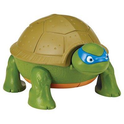 Teenage Mutant Ninja Turtles Micro Mutant Leonardo/'s Dojo Pet to Turtle Playset