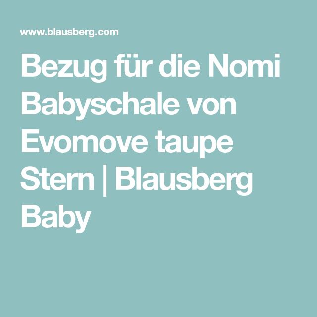 Rot Stern Sitzkissen Set f/ür Nomi Hochstuhl von Evomove Blausberg Baby