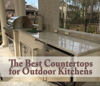 Bon The Best Countertop For An Outdoor Kitchen