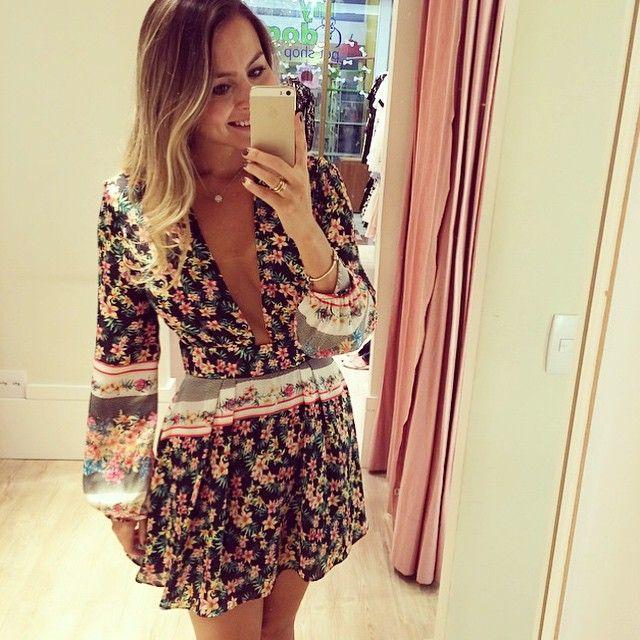 Vestido decote MARA! { cai bem com sandália ou uma bota + jaquetinha }  #inspired #preview #vestidolindo
