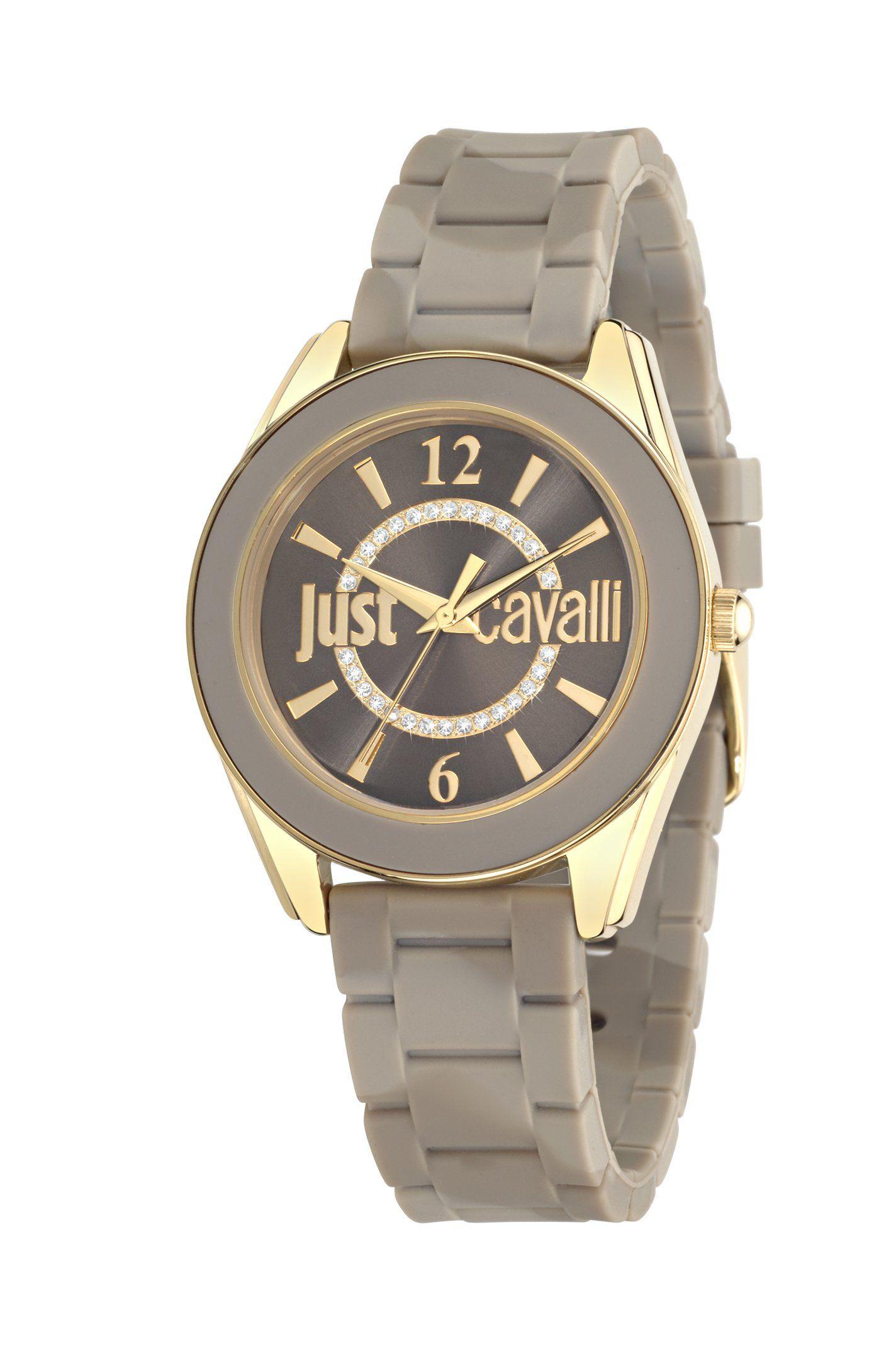 05bc80dce824 Amazon.com  Just Cavalli R7251602505 DREAM Women s Grey Quartz Watch   Clothing