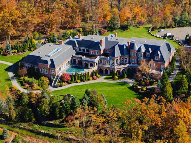 house of the day a 29 million mansion with indoor and outdoor pools in ber wealthy alpine nj