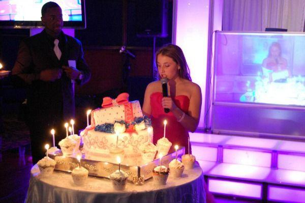 5 Bar Amp Bat Mitzvah Cake Ideas Cupcake Candle Lighting