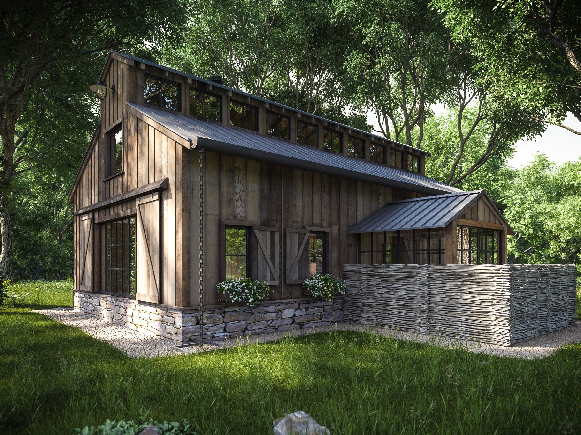 Private Development Cgrendering Com 3d Architecture Rendering Interior Exterior Product Barn Style House Modern Architecture Building Barn House Plans