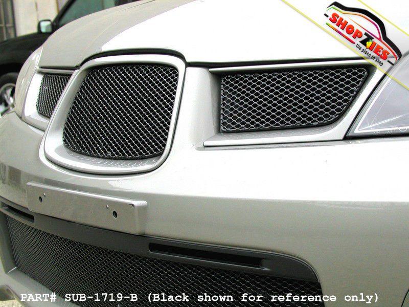 b41b3d3ff3b SUBARU IMPREZA WRX 06-07 MESH GRILLE UPPER 3 PC