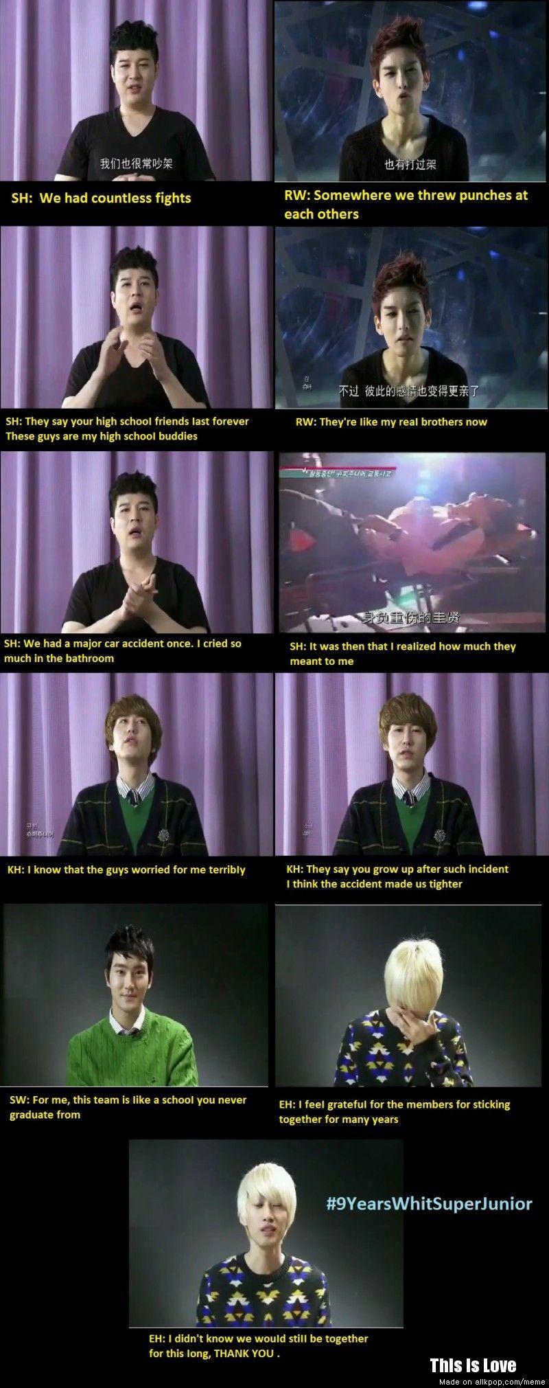 True Love Super Junior Super Junior Junior Yesung