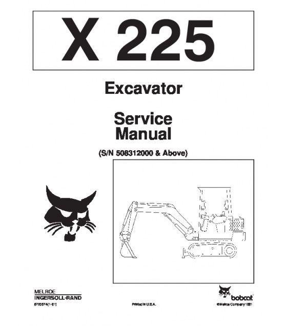 Bobcat 324 Excavator Service Repair Manual Pdf Sn Aky5 11001 And