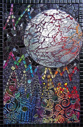 Handmade Polymer Clay Tile Tempered Gl Italian Millefiore