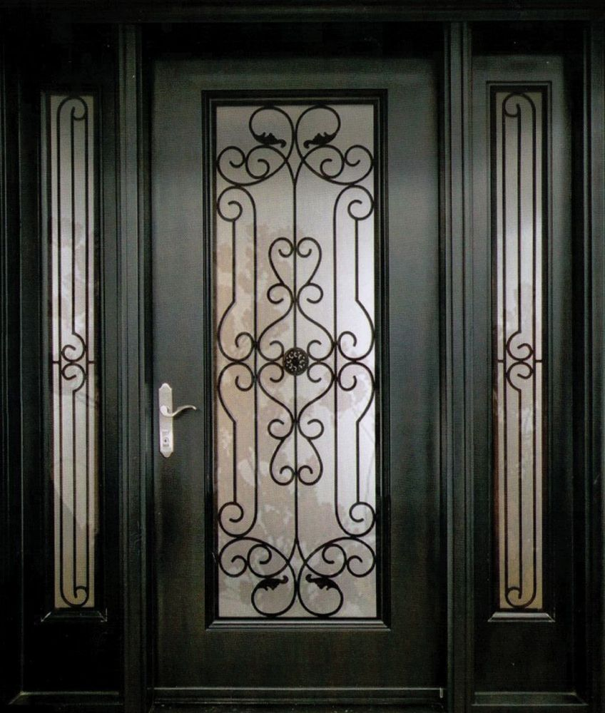An Exquisite And Stylish Decorative Wrought Iron Front Door Insert  Collection That Will Satisfy The Taste Of Every Individual. Made From The  Finest Canadian ...