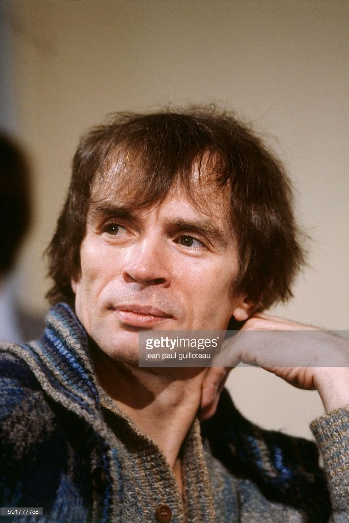 Photo d'actualité : Rudolf Noureev on the set of the television show...