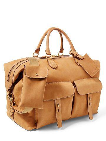 Vachetta Sahara Duffel Bag - Ralph Lauren Shop All - RalphLauren.com ... 9b0e2a073af93