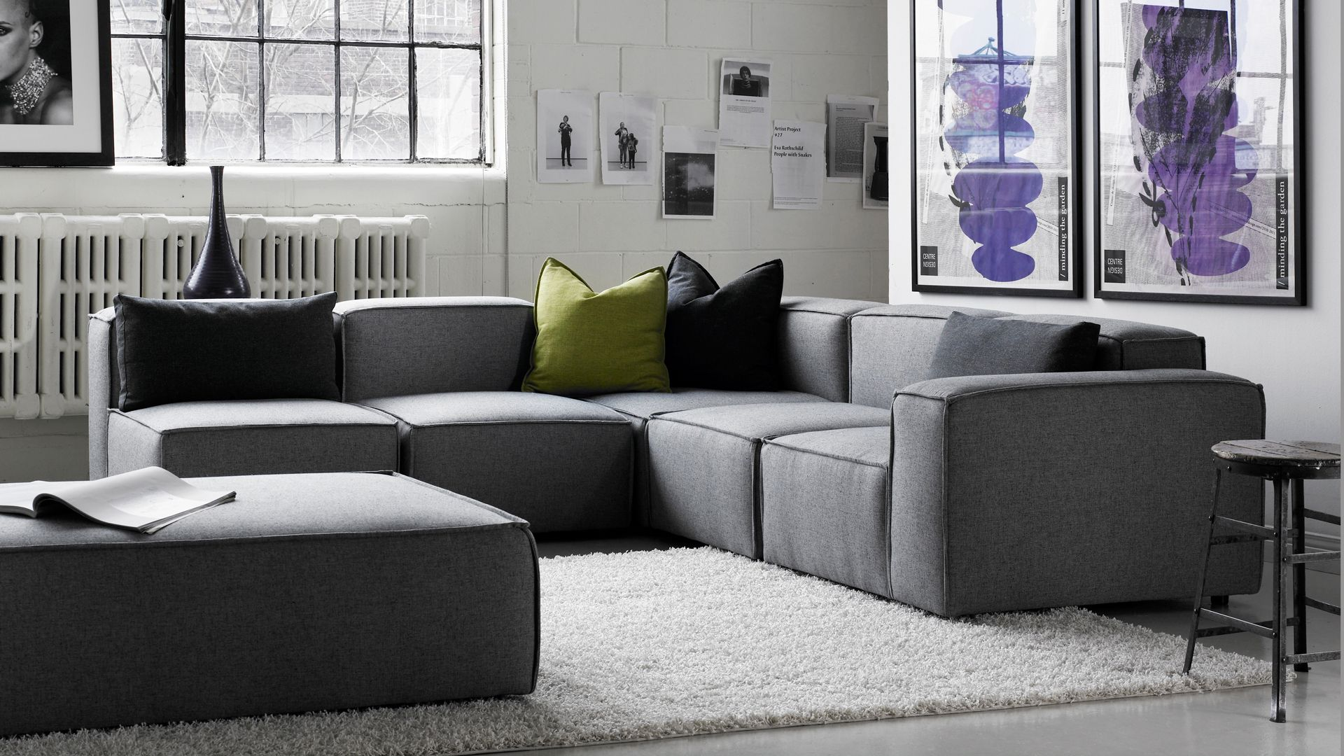 DOMINO modern modular sofa. Beautiful sofas inside and out ...