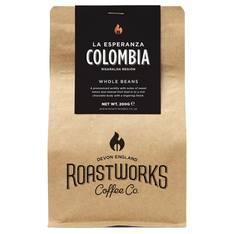 Colombian coffee beans by Mexican coffee by Roastworks in