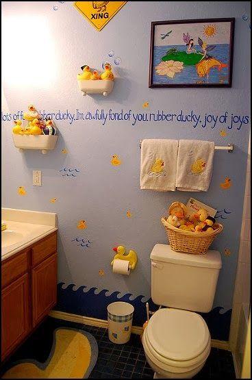 Amazing 9 Amusing Rubber Duck Bathroom Decor Image Ideas   I Like The Bath Tub  Shelves