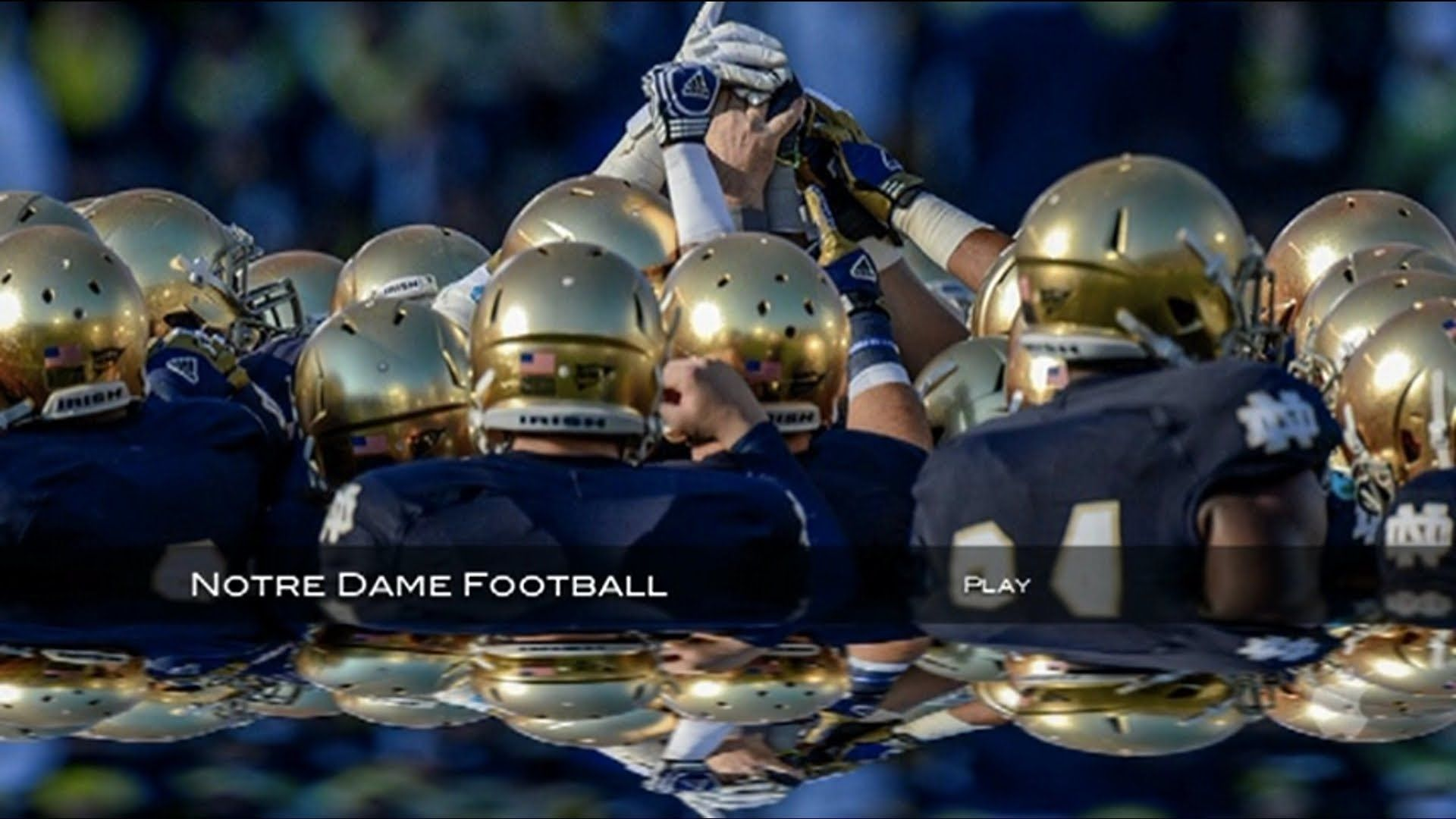 Notre Dame Football Wallpaper