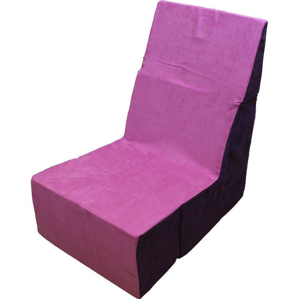 Pink Folding Foam Chair - Converts From Recliner to Cube - NEW - FREE SHIPPING! #CUBCHAIRS  sc 1 st  Pinterest & Pink Folding Foam Chair - Converts From Recliner to Cube - NEW ...