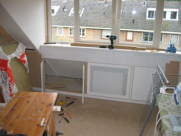 Badkamer Onder Dakkapel : Hele zolder verbouwen dakkapel slaapkamers badkamer diy in