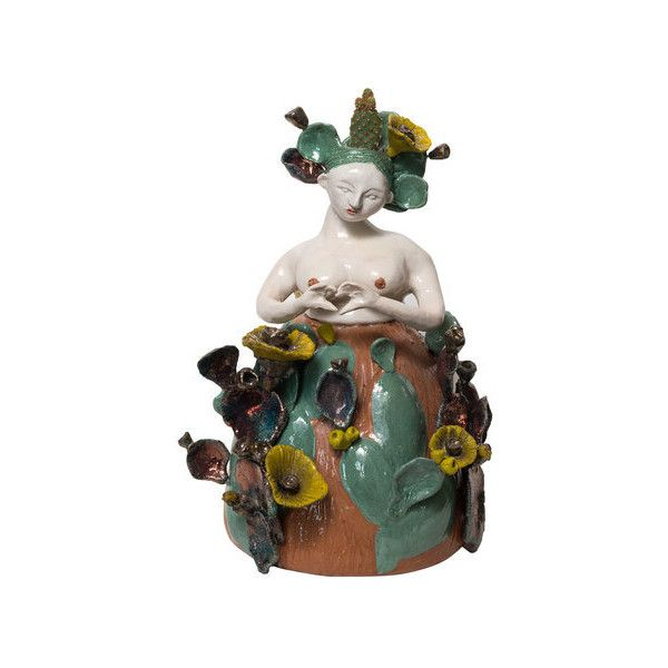 Zanellazine Le Babe India Vase 2235 CAD liked on Polyvore