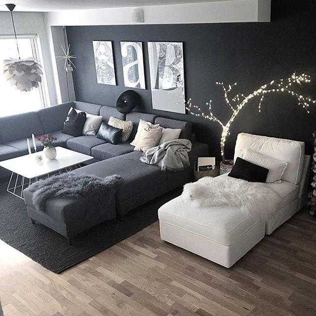 Instagram Post By INTERIOR DESIGN HOUSE HOME Ourluxuryhome - Canapé convertible scandinave pour noël aménagement de salon
