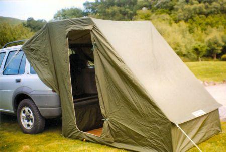 Caranex Car Tent Attachment