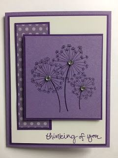 Dandelion Wishes Sheltering Tree Thinking Of You Card Stampinupcards My Creat Card Creat In 2020 Sympathy Cards Handmade Cards Handmade Greeting Cards Handmade