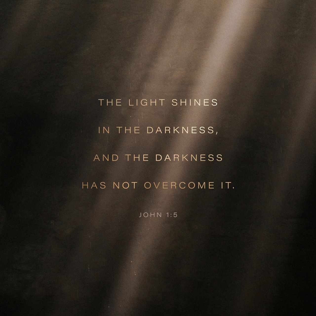 John 1 5 The Light Shine In Darknes And Ha Not Overcome It New International Version Niv Download Th Bible App Quote Verses Shining Out Of Paraphrase
